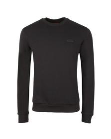 HUGO Mens Black Drick-U1 Sweatshirt