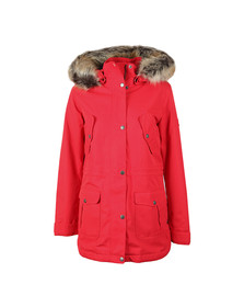 Barbour Lifestyle Womens Red Stronsay Jacket