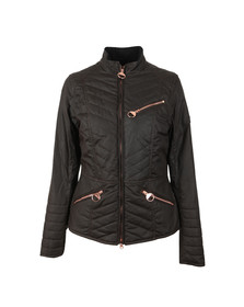 Barbour International Womens Brown Backmarker Wax Jacket