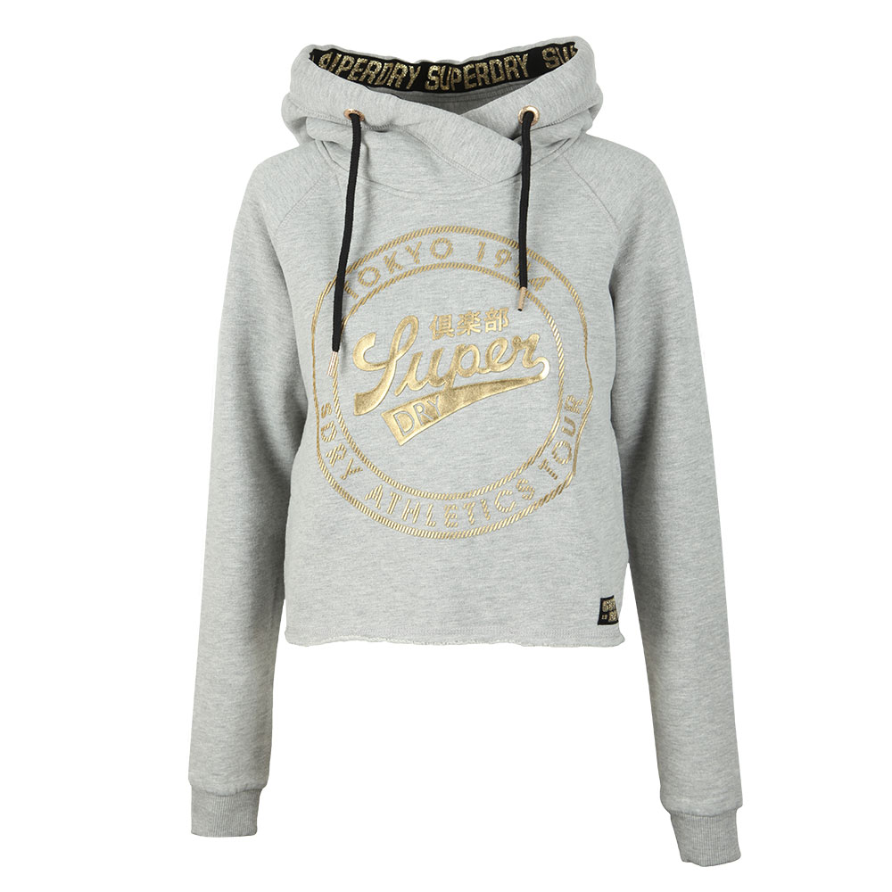 Ace Metallic Crop Hoody main image