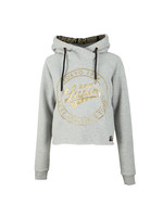 Ace Metallic Crop Hoody