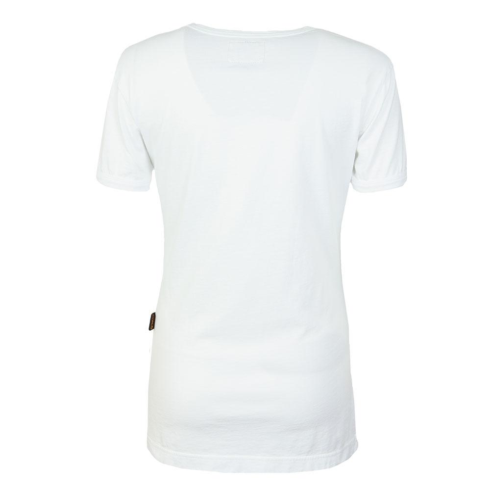 Classic Heart World Print T Shirt main image