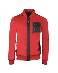 Luke Sport Mens Red Springer Jacket