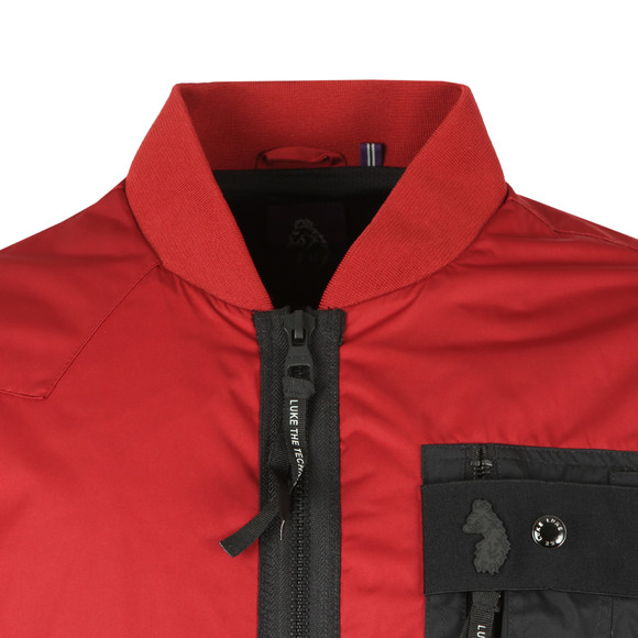 Luke Sport Mens Red Springer Jacket main image