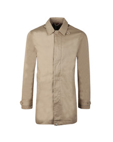 Pretty Green Mens Beige Button Up Mac