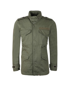 Pretty Green Mens Beige M65 Jacket