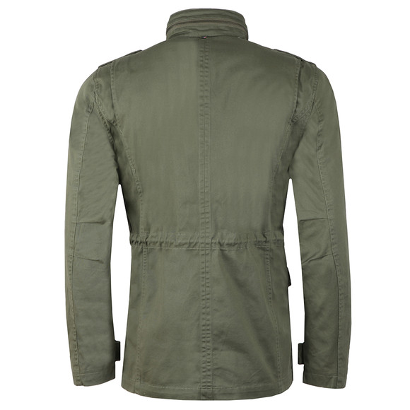 Pretty Green Mens Green M65 Jacket main image