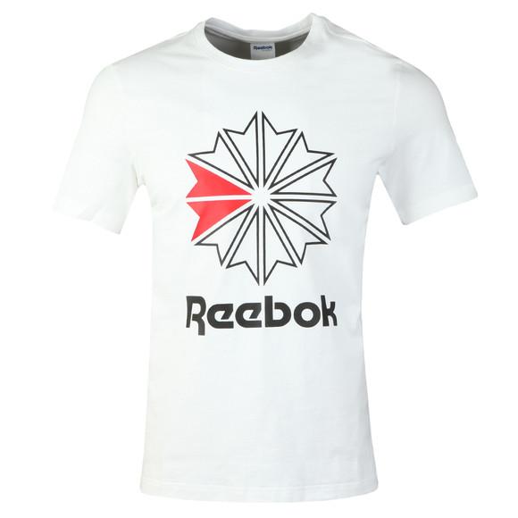 Reebok Mens White F GR Tee main image