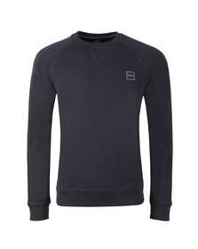 BOSS Orange Mens Blue Wyan Sweatshirt