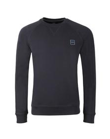 BOSS Mens Blue Casual Wyan Sweatshirt