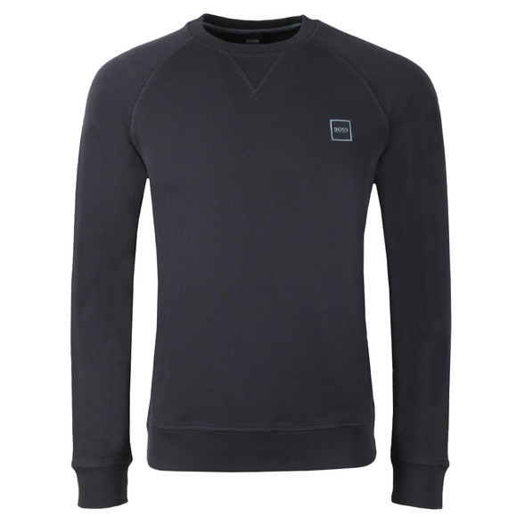 BOSS Mens Blue Casual Wyan Sweatshirt main image