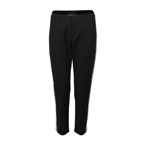 Maison Scotch Womens Black Tailored Stretch Pant