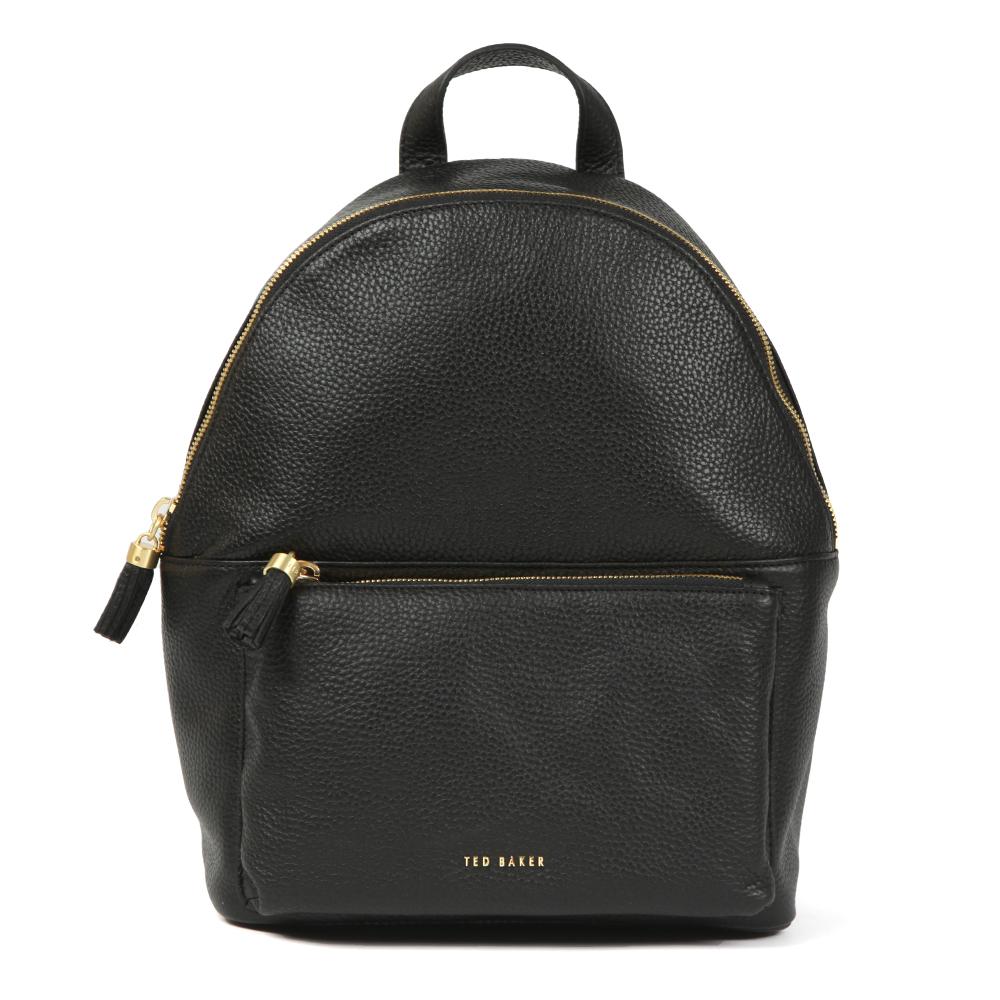 Mollyyy Tassle Soft Leather Backpack main image