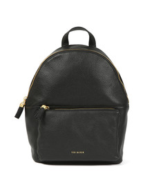 Ted Baker Womens Black Mollyyy Tassle Soft Leather Backpack