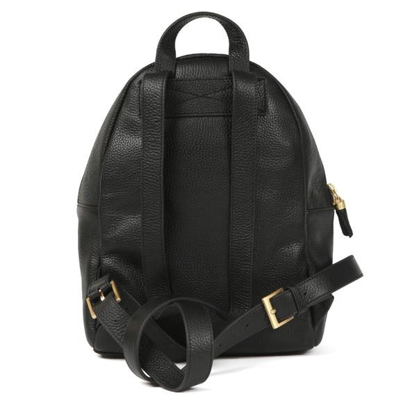 Ted Baker Womens Black Mollyyy Tassle Soft Leather Backpack main image
