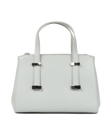Ted Baker Womens Grey Alyssaa Bow Adjustable Handle Small Tote Bag