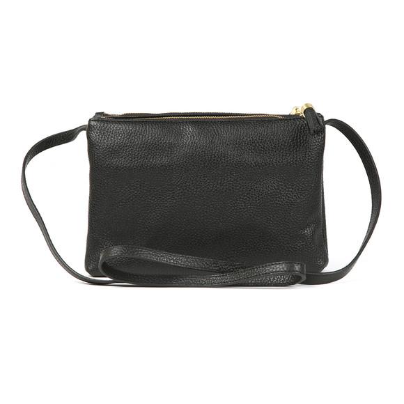 Ted Baker Womens Black Maceyy Tassle Double Zipped XBody Bag main image