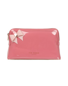 Ted Baker Womens Pink Adda Core Bow Washbag