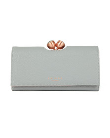 Ted Baker Womens Grey Muscovy Textured Bobble Matinee Purse