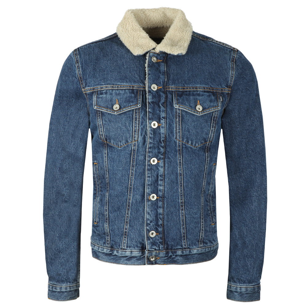 D-Gioc Fur Denim Jacket main image
