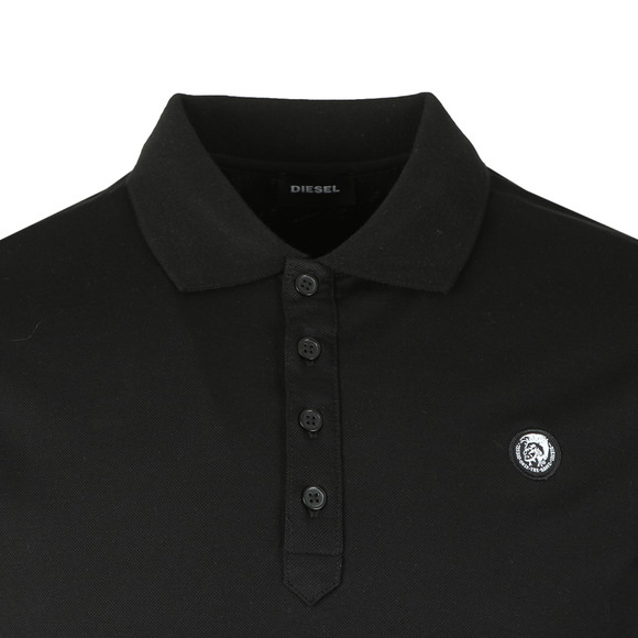 Diesel Mens Black Weet Polo Shirt main image