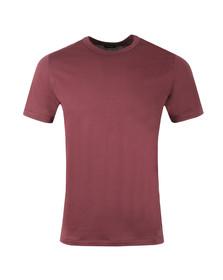 Diesel Mens Red Diamantik T-Shirt
