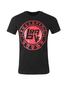 Diesel Mens Black Diego XC Crew T-Shirt