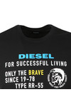 Diesel Mens Black Diego XB T-Shirt