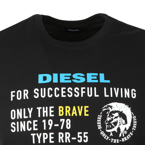 Diesel Mens Black Diego XB T-Shirt main image