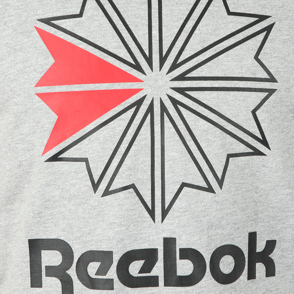 Reebok Mens Grey F GR Tee main image
