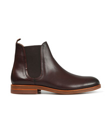 H By Hudson Mens Brown Adlington Boot