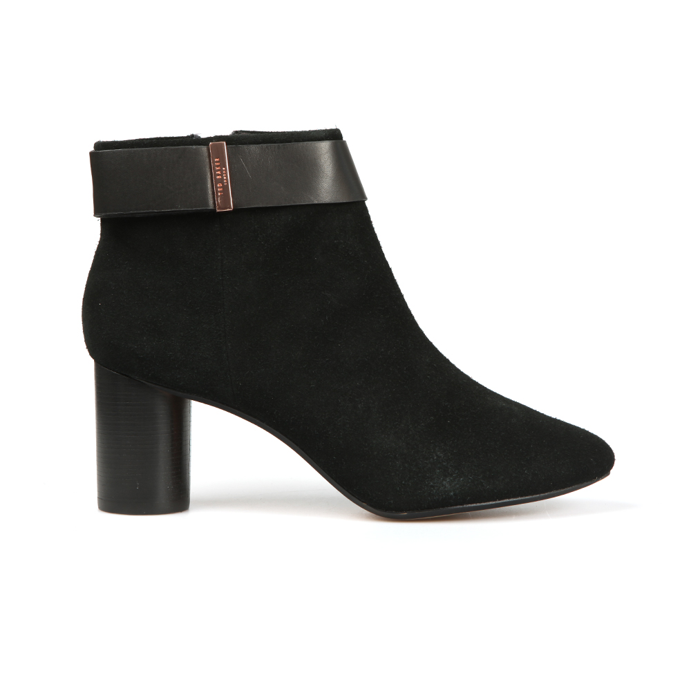 Mharia Circular Heel Ankle Boots main image