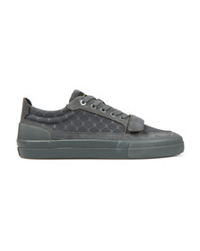 Creative Recreation Mens Grey Legato Suede Nubuck Trainer