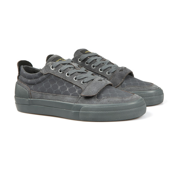 Creative Recreation Mens Grey Legato Suede Nubuck Trainer main image