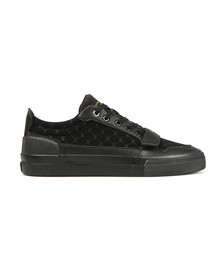 Creative Recreation Mens Black Legato Suede Nubuck Trainer