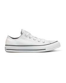 Converse Womens White Metallic Glitter All Star Ox