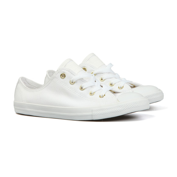 Converse Womens White CT AS Dainty OX Trainer main image