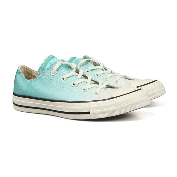 Converse Womens Green All Star Ombre Ox main image