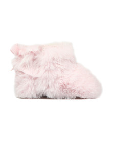 Ugg Girls Pink Jesse Bow II Fluff Bootie
