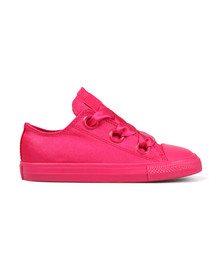 Converse Girls Pink Kids Big Eyelet Ox