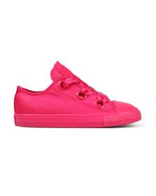 Converse Girls Pink Kids Big Eyelet Ox