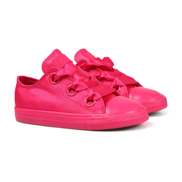 Converse Girls Pink Kids Big Eyelet Ox main image