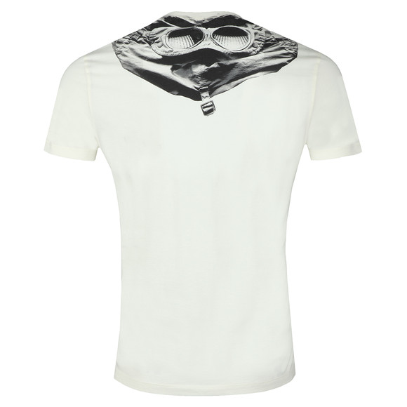 C.P. Company Mens Off-White Printed Goggle T Shirt main image