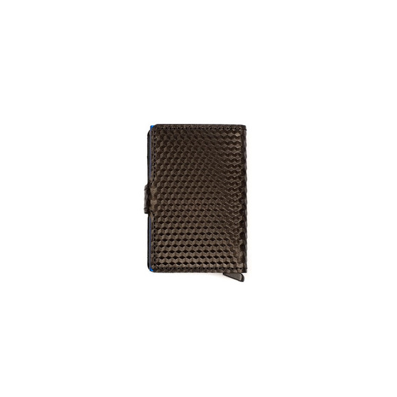 Secrid Mens Black Cubic Mini Wallet main image