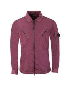 C.P. Company Mens Purple Nylon Overshirt