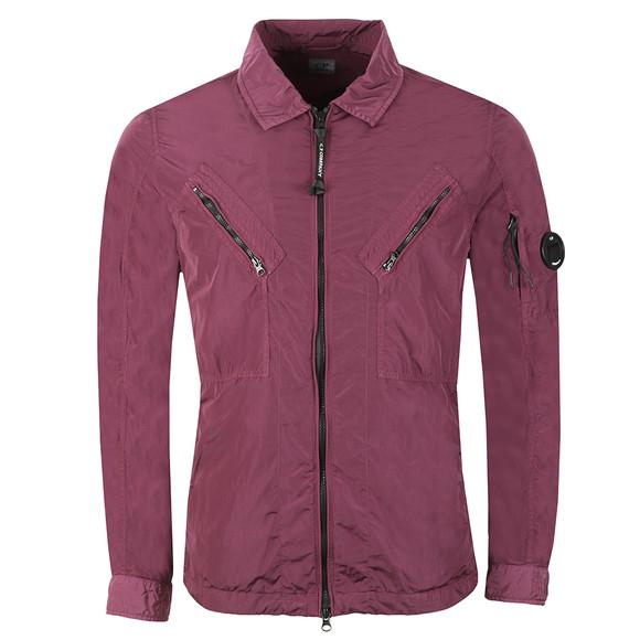 C.P. Company Mens Purple Nylon Overshirt main image