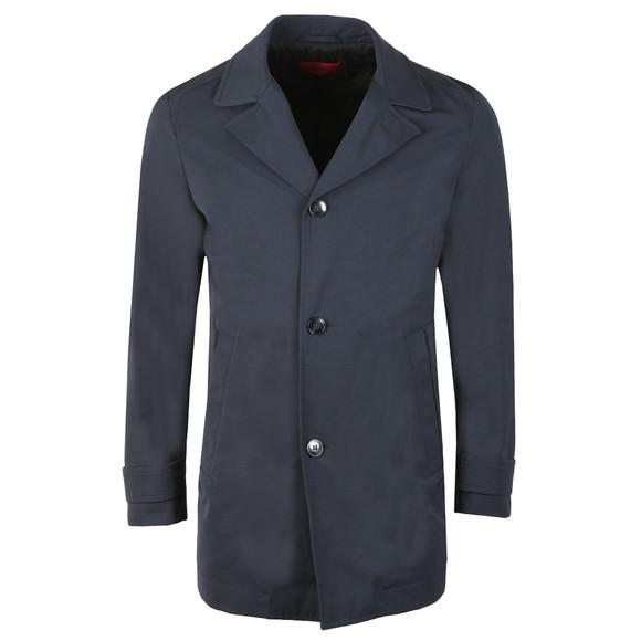HUGO Mens Blue Midais Coat main image