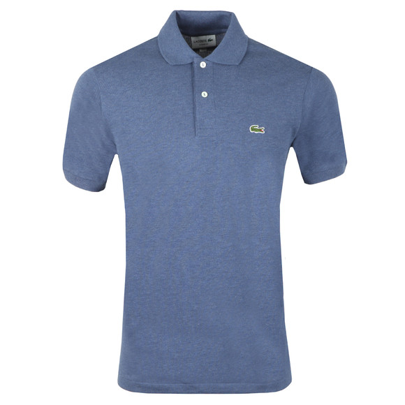 Lacoste Mens Blue Lacoste L1264 Plain Polo main image