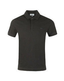 Lacoste Mens Black PH5522 Paris SS Polo
