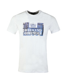 Weekend Offender Mens White Boxes T Shirt